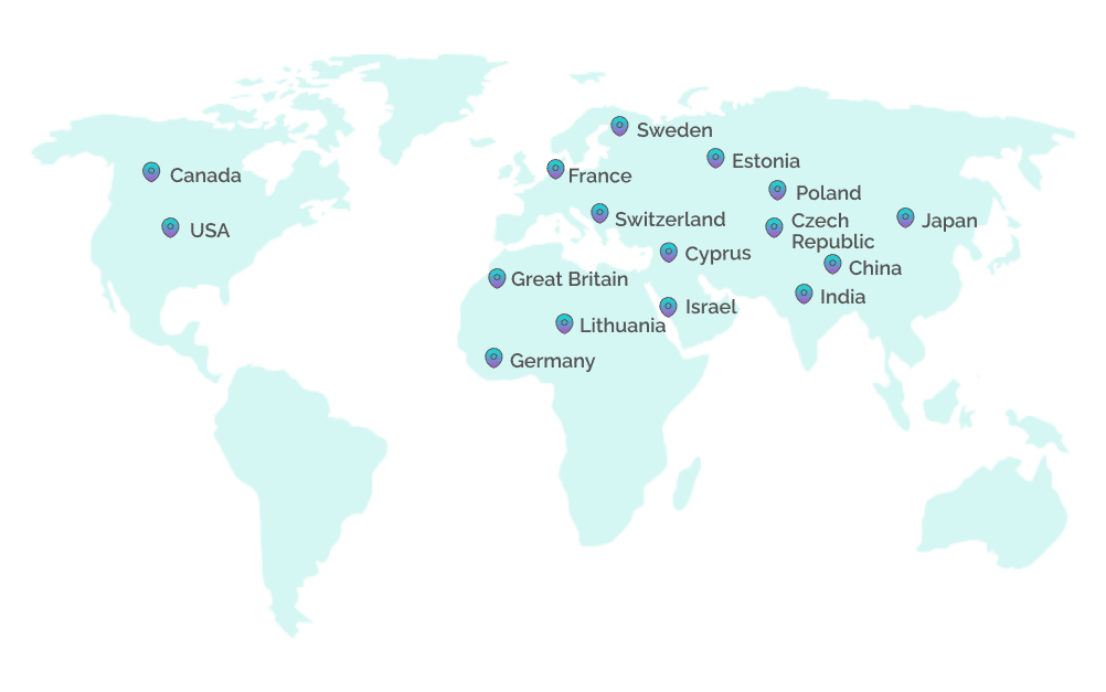 We close vacancies for clients from 15+ countries of the world